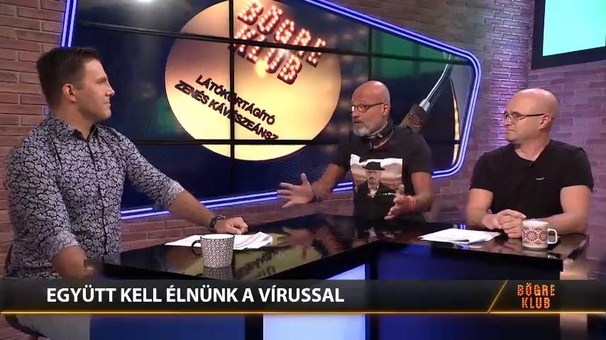 Zacher Gábor a COVIDRÓL: Lazul a fegyelem, komoly baj lehet belőle