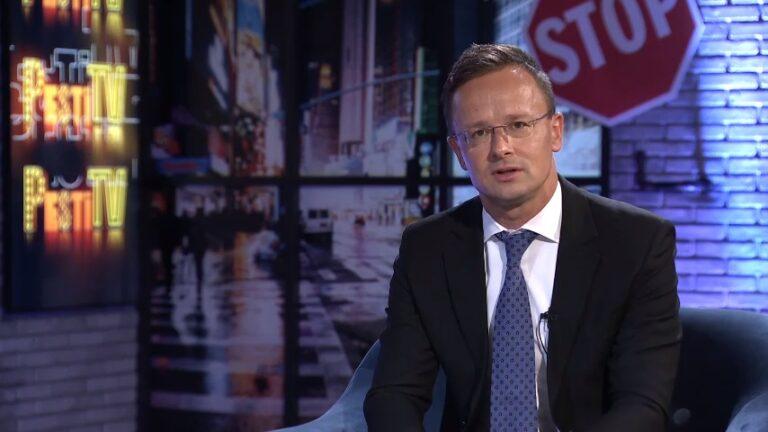 Szijjártó Péter a Pesti TV-nek: Orbán és Trump a két legerősebb vezető