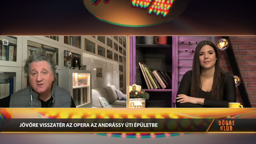 Elkészült az Eiffel műhelyház, megújul a Magyar Állami Operaház - Ókovács Szilveszter a Bögre Klubban