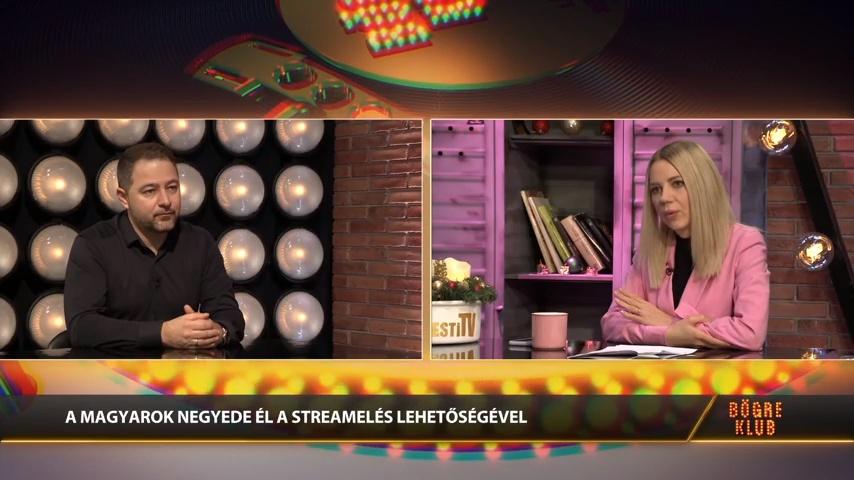 A hagyományos TV és mozi jövője - Poór Csaba a Bögre Klubban