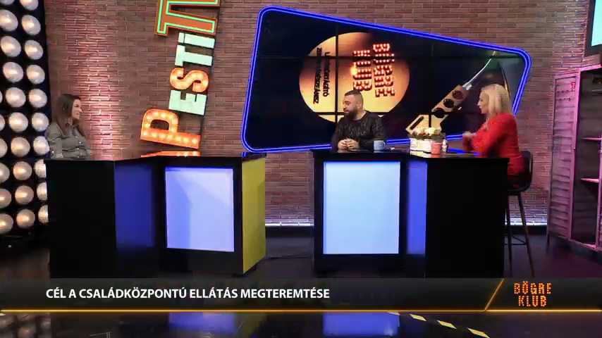 Családbarát szülészet program - Sebők-Tóth Kata a Bögre Klubban