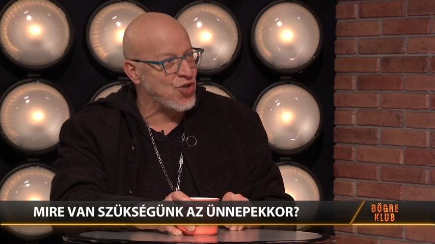 Karácsonyi filmek - Réz András a Bögre Klubban