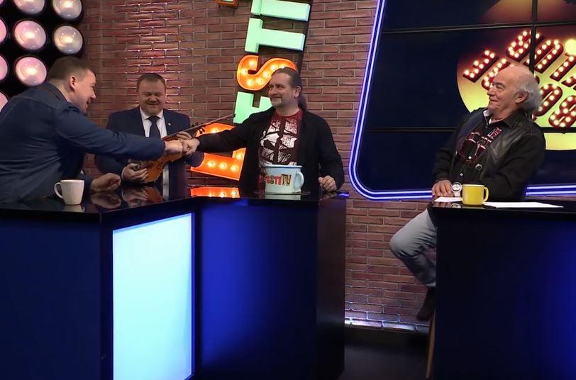 A Pesti TV 2021-es éve - Huth Gergely a Bögre Klubban