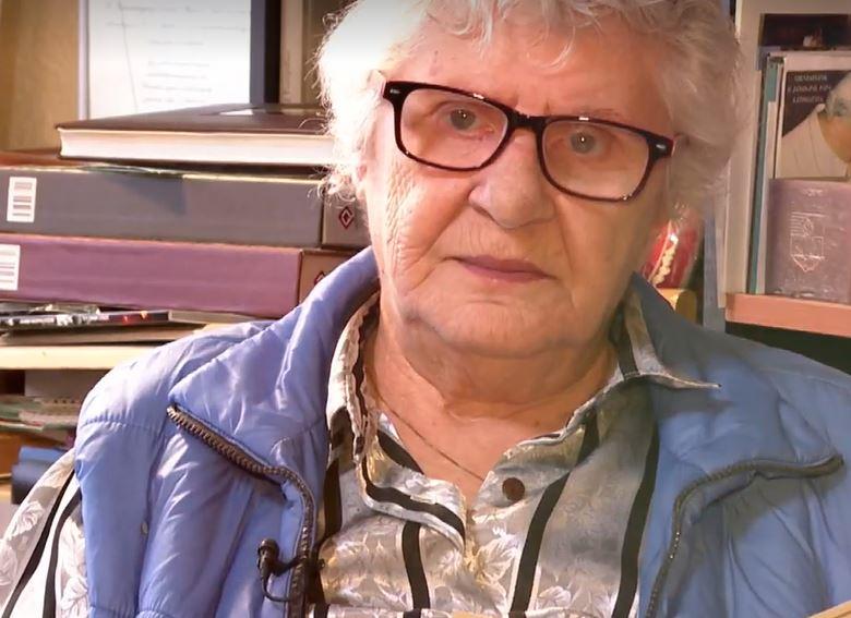 Wittner Mária evvel a verssel köszöntötte a Pesti TV nézőit