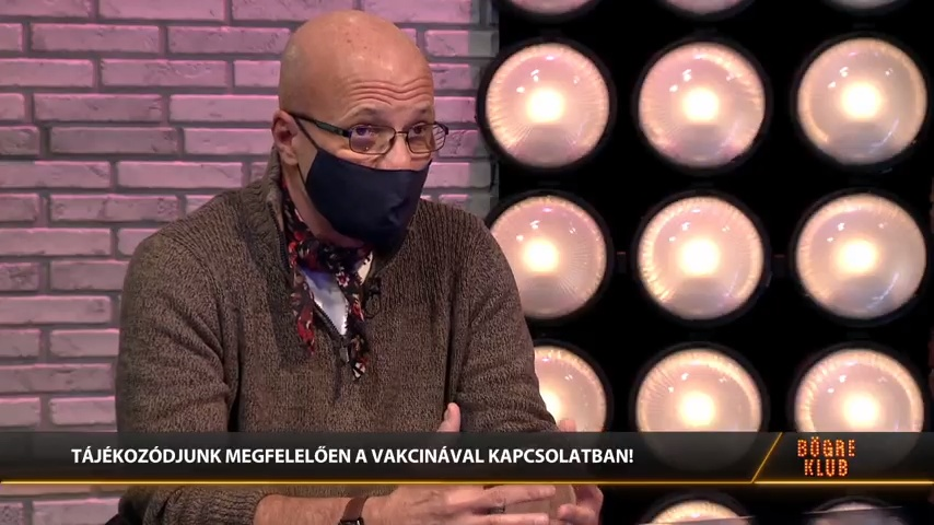 Zacher Gábor – Bögre klub – Vakcinák vs oltásellenesség
