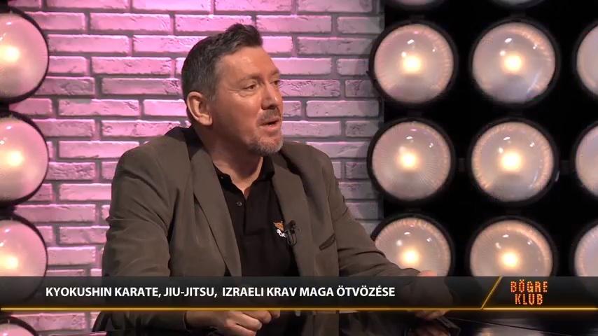 Bögre Klub - Zöllei Zoltán - Különleges harcászati módszerrel képzik a honvédkadétokat