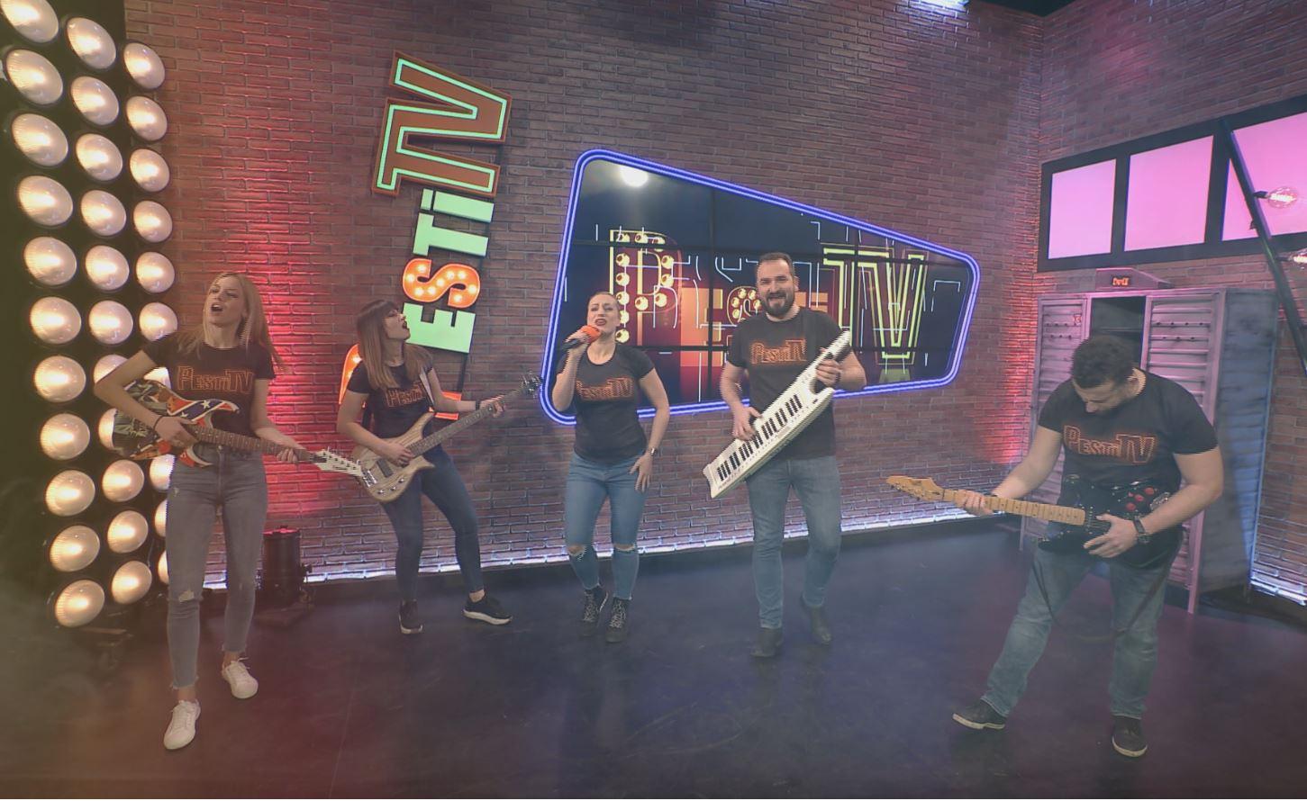 Gerilla bár - Pesti TV klippremier, Perutek János zenei és sportsikerei