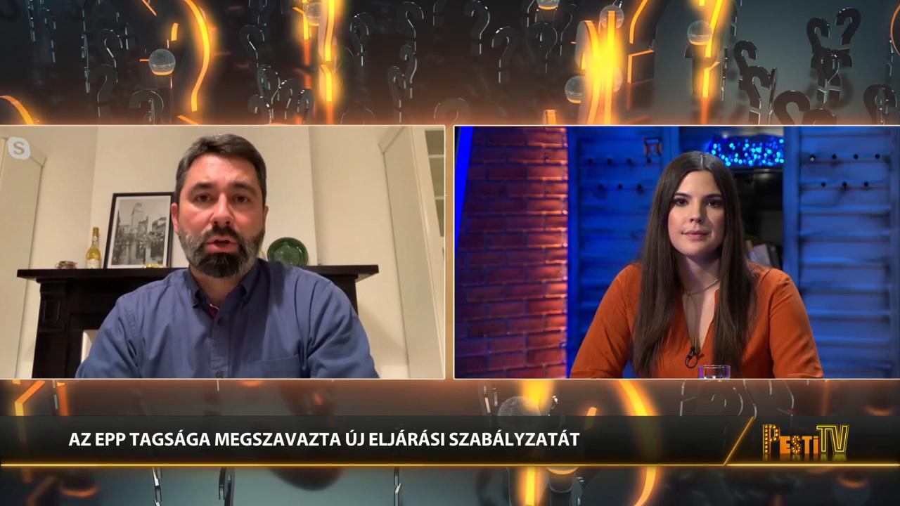 Kilépett a Fidesz az Európai Néppárt frakciójából - Hidvéghi Balázs a Pesti Riporterben