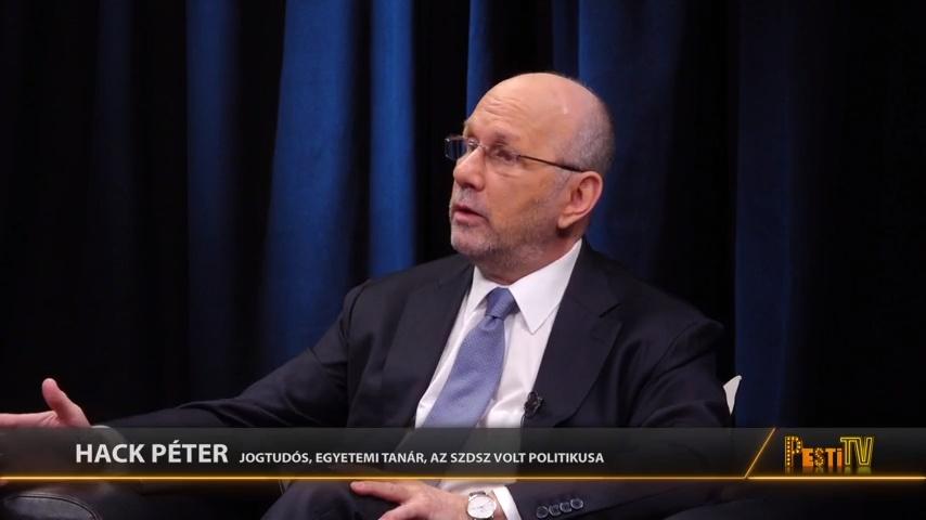 Hack Péter, volt SZDSZ-es politikus a Boomerlázadásban