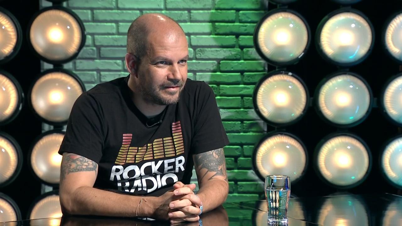 Dübörög a Rocker Rádió - Kalácska Gábor a Gerilla Bárban