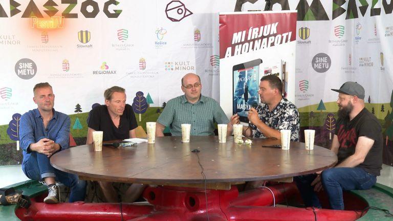 """A TELJES VITA! - Nem a Fidesz nyúlta le """"nemzetet"""", hanem a baloldal tagadta meg azt! – Huth–Ambrózy vs. Dévényi–Nagy Gombaszögön"""
