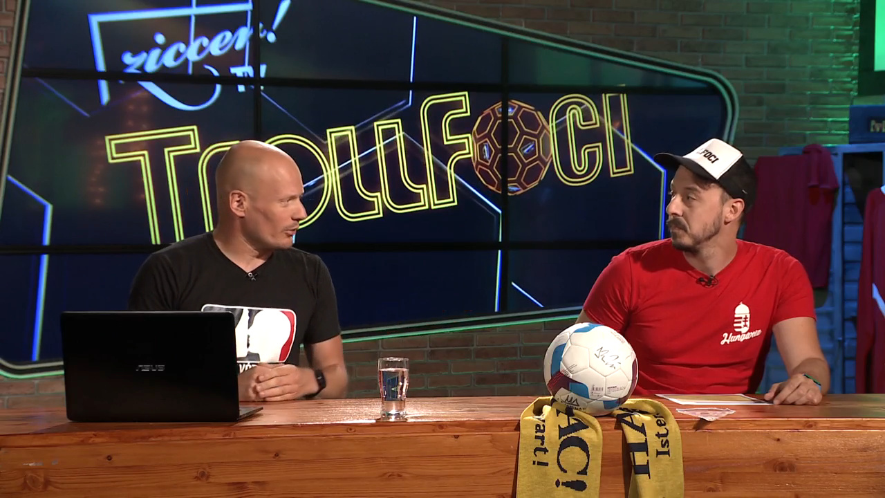 Bolla Bendegúz és Dunai Antal a Ziccer TV-ben!