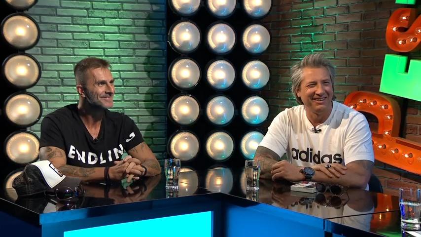 Ficzkó András és Fűzfa Zoltán a Gerilla Bárban