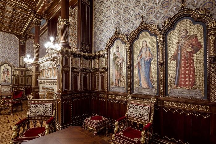 061: feltárul a Budavári Palota csodája, a Szent István- terem
