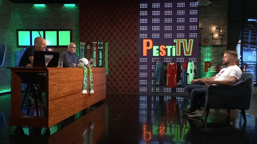 Szakács Kristóf és Kovács Sarolta a ZiccerTV-ben